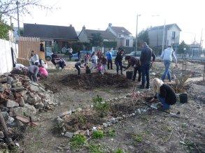 jardin partagé villetaneuse février 2016